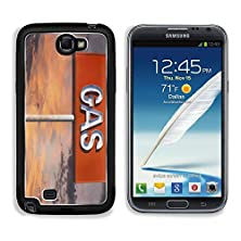 buy Msd Samsung Galaxy Note 2 Aluminum Plate Bumper Snap Case Vintage Neon Gas Sign With Sunset Sky Image 20420065