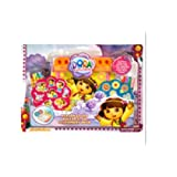 Dora The Explorer Nickelodeon Roller & Go Personalized Stationery Desk Art Set W/crayons Markers Act