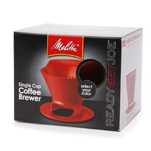 Buy Melitta Ready Set Joe Single Cup Coffee Brewer At