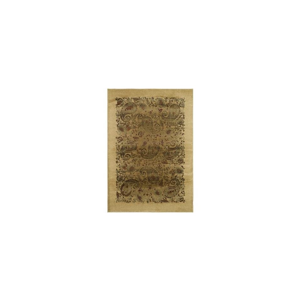 Safavieh Lyndhurst Collection LNH224A Traditional Paisley Beige and Multi Rectangle Area Rug (811 x 12)