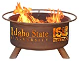 Idaho State University Portable Steel Fire Pit Grill