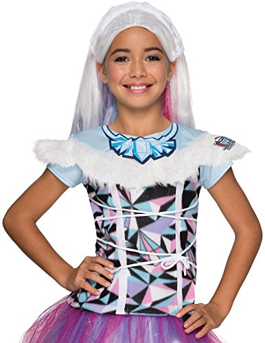 Rubie's Costume Monster High Abbey Bominable Photo Real Costume Top Costume, Small
