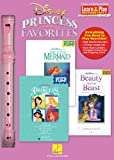 Hal Leonard 102842 Disney Princess Favorites with Little Mermaid/Beauty and The Beast/Princess - Learn And Play Recorder Pack Box