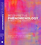 img - for Interpretive Phenomenology in Health Care Research book / textbook / text book