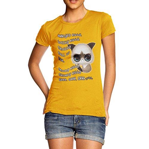 TWISTED ENVY - Camicia - Maniche corte  - Donna giallo Large