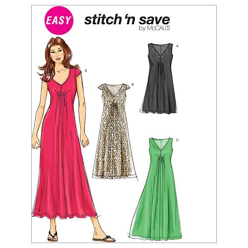 McCall's Patterns M6264 Misses' Dresses In 3 Lengths, All Sizes