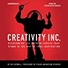 Creativity Inc. Audiobook by Ed Catmull Narrated by Peter Altschuler