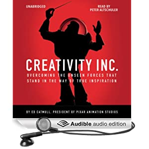 Creativity Inc. (Unabridged)