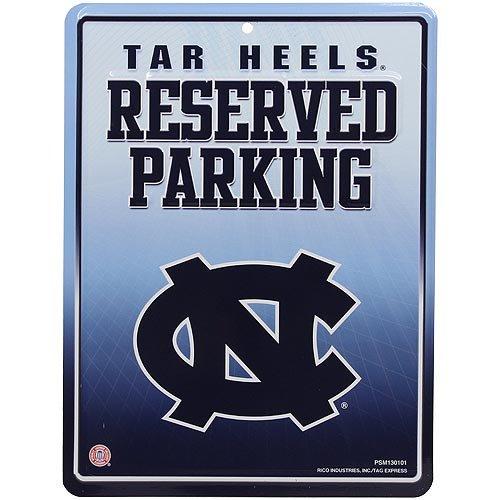 NCAA North Carolina Tar Heels Parking Sign