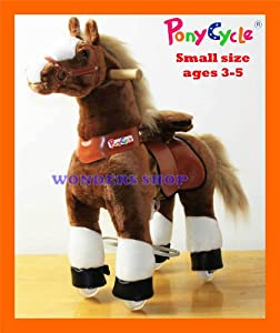 Buy Wonders Shop USA - New Ponycycle Pony Cycle Ride On Horse No Need Battery No Electric Just Walking... by Pony Cycle Ponycycle