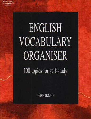 English Vocabulary Organiser: 100 Topics for Self Study (LTP Organiser Series)