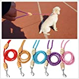 Nylon Pulling Rope Lead Exercising Walking Leash For Pet Dog Puppy