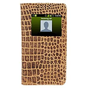 D.rD Flip Cover with screen Display Cut Outs designed for Micromax Unite 2 A106