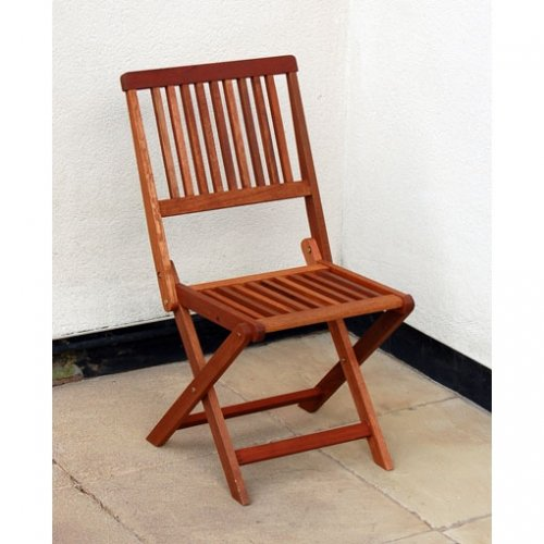 Home & Garden Direct Haiti Folding Hardwood Garden Chair