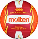 MOLTEN V5B1500-RO Ballon de beach-volley
