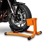 ConStands Motorrad Montageständer Wippe Vorderrad Easy Orange Hyosung GF 125