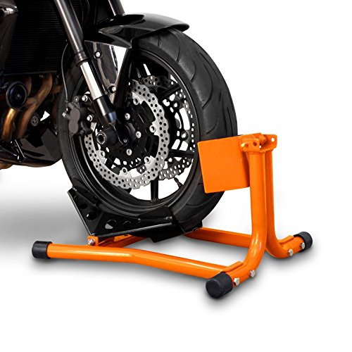 ConStands Motorrad Montageständer Wippe Vorderrad Easy Orange KTM 690 Supermoto SM\ R