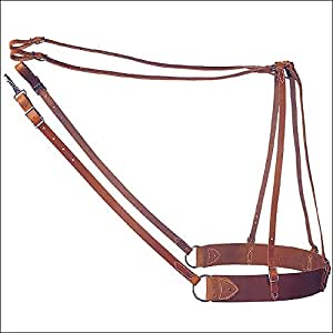 Weaver Pack Saddle Leather Britching
