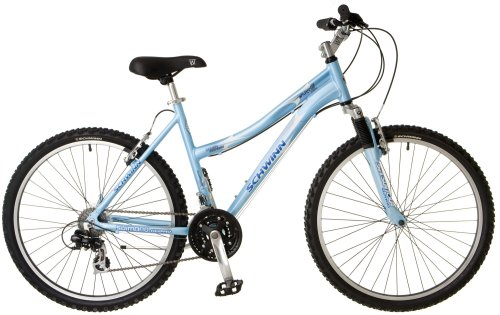 Schwinn Ridge AL Women's Mountain Bike (26-Inch Wheels, Blue)