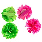Pink & Green Hair Clips