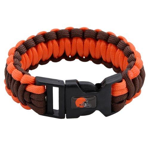 Nfl Durable Nylon Afc North Survivor Bracelet