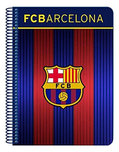 F.C.Barcelona - Libreta folio con 80 hojas cuadriculadas (Safta 511629065)
