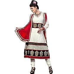 Cenizas embroidered Semi Stich Salwar Suit Duptta (2006)