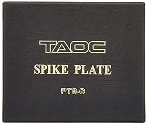 アイシン高丘 【TAOC】 TITEシリーズ インシュレーター(グラデーション鋳鉄 スパイク用プレート)[4個1組] PTS-G