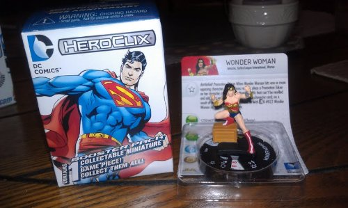 DC Heroclix 10th Anniversary Wonder Woman #2 counter top - 1