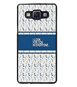 PrintDhaba Quote D-4330 Back Case Cover for SAMSUNG GALAXY A5 (Multi-Coloured)