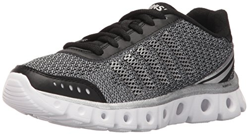 K-Swiss Women's Xlite Athletic HthrCMF Cross-Trainer Shoe, Black/Charcoal, 8 M US