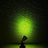 レーザーライト室内・室外対応 防水 角度調節可 ガーデン ステージ 部屋 室内 星空 投影 夜空 イルミネーション 照明マシン ミニポータブルレーザーライト ディスコライト演出 舞台照明 プラネタリウムKINGSTAR(キンスター)