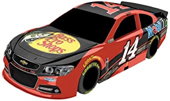 Tony Stewart #14 Bass Pro Shops 2014 NASCAR Plastic Toy Car (1:18 Scale) by Lionel Racing