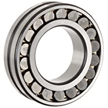 FAG E1 Series FAG Spherical Roller Bearing, Double Row, Reinforced Roller Set, Tapered Bore, Roller Guided Brass Cage, C3 Clearance, Metric