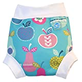 Splash About Girl's Collections Happy Neoprene Swim Nappy - Apple Daisy, 3-8 Months