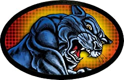 Officially Licensed Tattoo Prowling Johnny Panther Belt Buckle