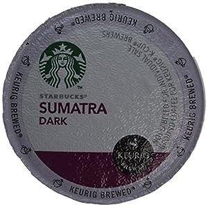 Starbucks Sumatra Dark Roast Coffee Keurig K-Cups, 96 Count from Starbucks