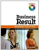 echange, troc John Hughes, Shaun Wilden - Business Result : Elementary, teacher's book (2DVD)