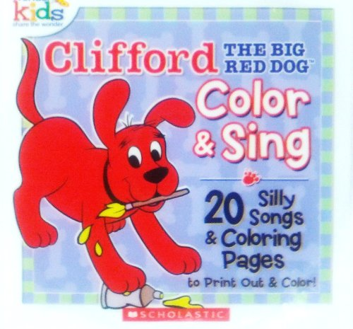 Clifford The Big Red Dog Color & Sing [CD-ROM]