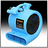Contair® STORM Air Mover Carpet Dryer Blower Floor Fan High CFM Blue Color