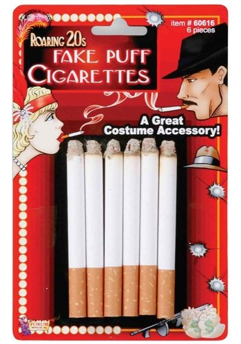 Fake Cigarettes. Ideal for adding to any metal costume.