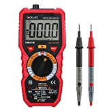 Tacklife DM01M Digital Multimeter Multi Tester with Non Contact Voltage Detection Temperature,Live Line,Beep Continuity Test with Lighting