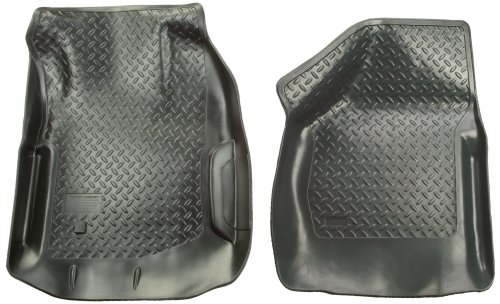 Front Floor Liners Custom Molded Black