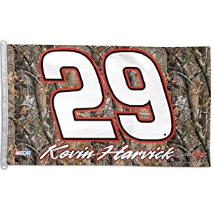 NASCAR Camoflage Banner Driver: Kevin Harvick by WinCraft