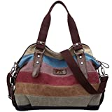 Molly Damen Canvas Schultertasche