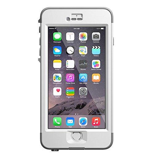 日本正規代理店品・保証付LifeProof 防水 防塵 耐衝撃ケース nuud for iPhone6 Plus White LP6PW