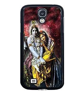 Fuson Premium 2D Back Case Cover Lord RadhaKrishna With Multi Background Degined For Samsung Galaxy S4 Mini::Samsung Galaxy S4 Mini i9190