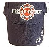 Navy Blue Fd Fire Department Hat Dept Firemen Fdny Ball Baseball Cap