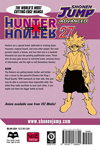 Hunter x Hunter Volume 27