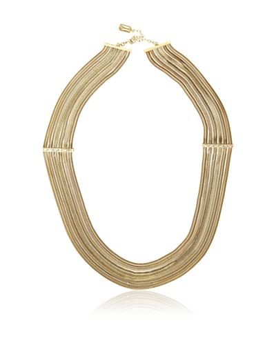 Karine Sultan Gold Ox Flat Snake Chain Necklace